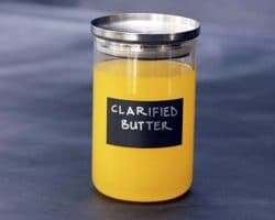 Clarified butter is becoming more and more popular