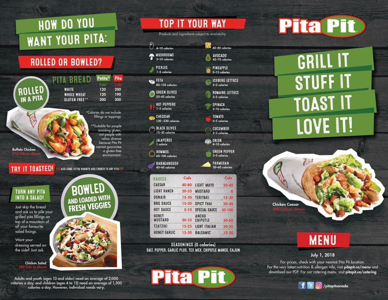 photograph regarding Pita Pit Printable Menu known as Pita Pit Menu 2013 Identical Keywords and phrases Recommendations - Pita Pit