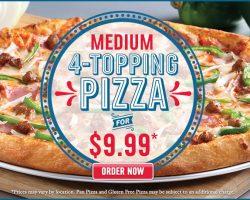 Domino S Pizza Canada Menu And Nutrition