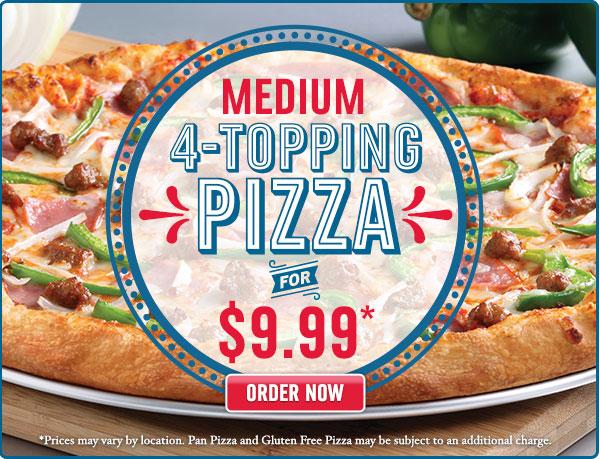 Domino S Pizza Canada Menu And Specials