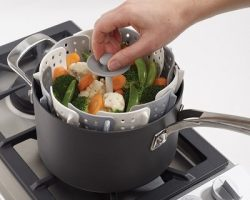 Healthier dishes and less calories with steam cooking