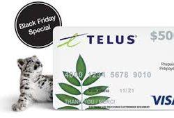 Telus Black Friday Deals 2018