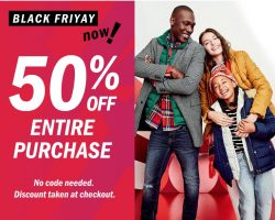 Old Navy Black Friday Deals Canada 2018