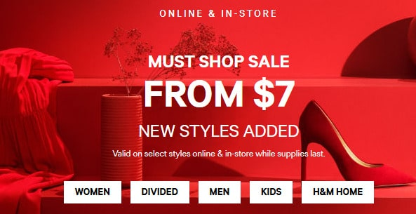 Hm Canada Deals 30 Off Coupon And Up To 70 Off Sale
