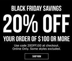 Foot Locker Black Friday Deals Canada 2018