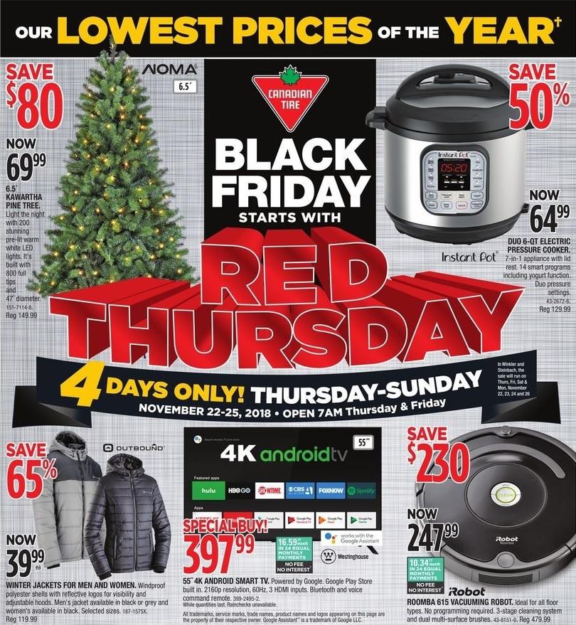 Canadian Tire Black Friday 2019 Flyer Sale