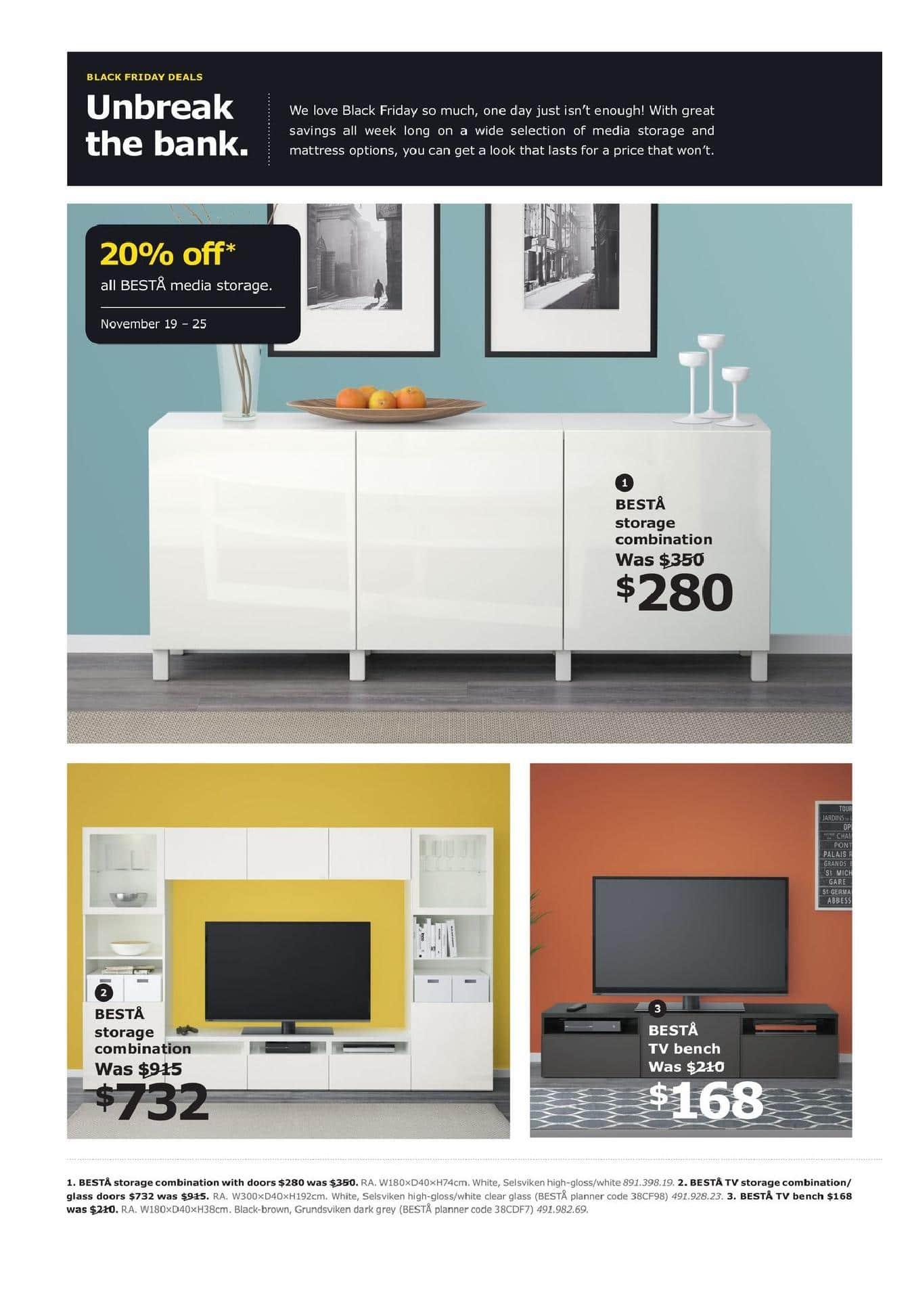 Ikea Black Friday Canada 2018 Sale Flyer
