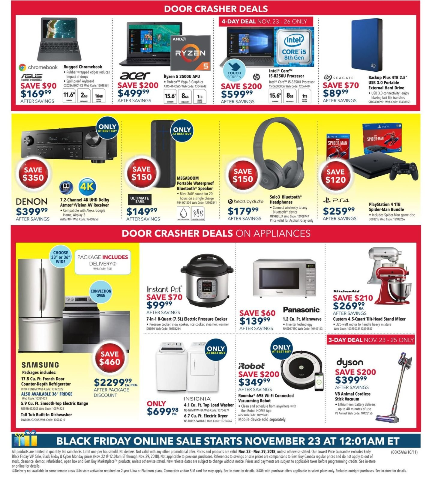 25582015ccad4 ... while you can shop online starting at 12:01 AM ET. The sale will  continue beyond Friday, into Cyber Monday 2018 on November 26.
