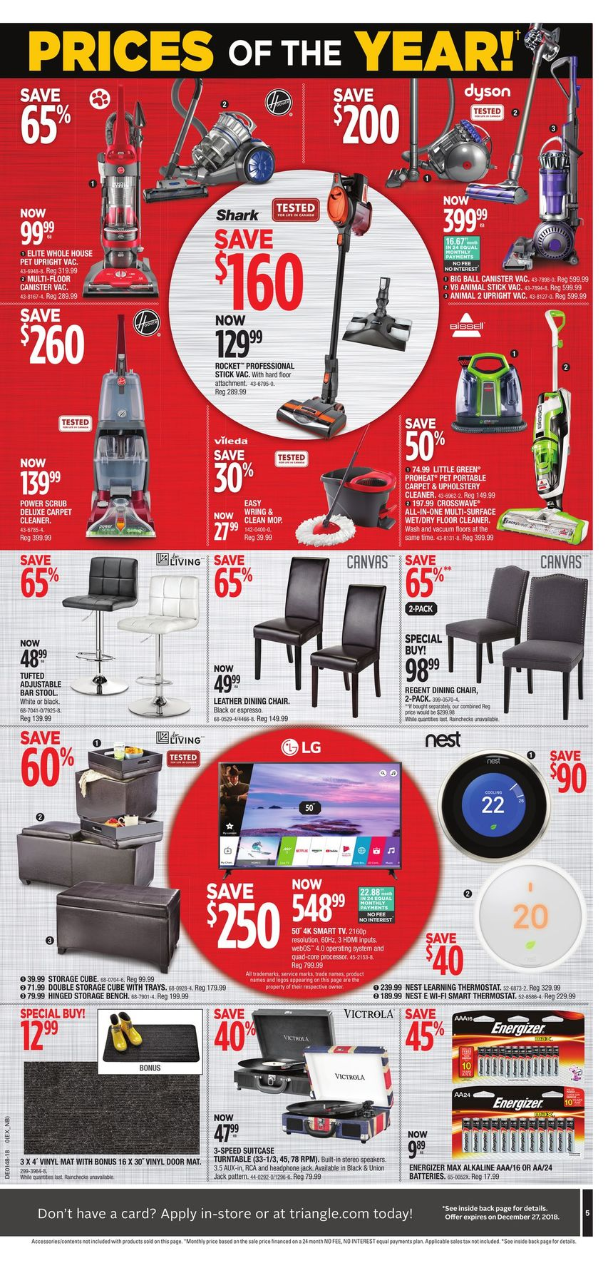 Canadian Tire Black Friday 2019 Flyer Sale