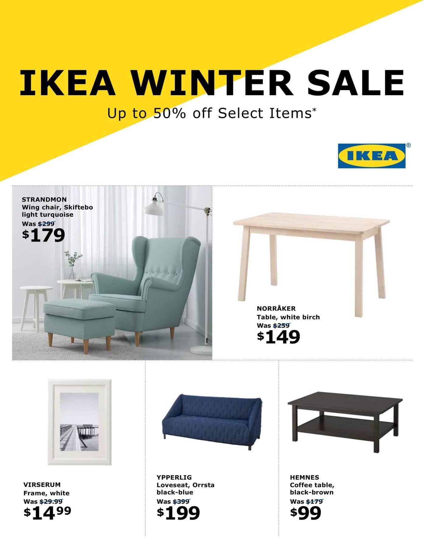 ikea boxing day sale flyer canada december 26 2018 6 january 2019. Black Bedroom Furniture Sets. Home Design Ideas