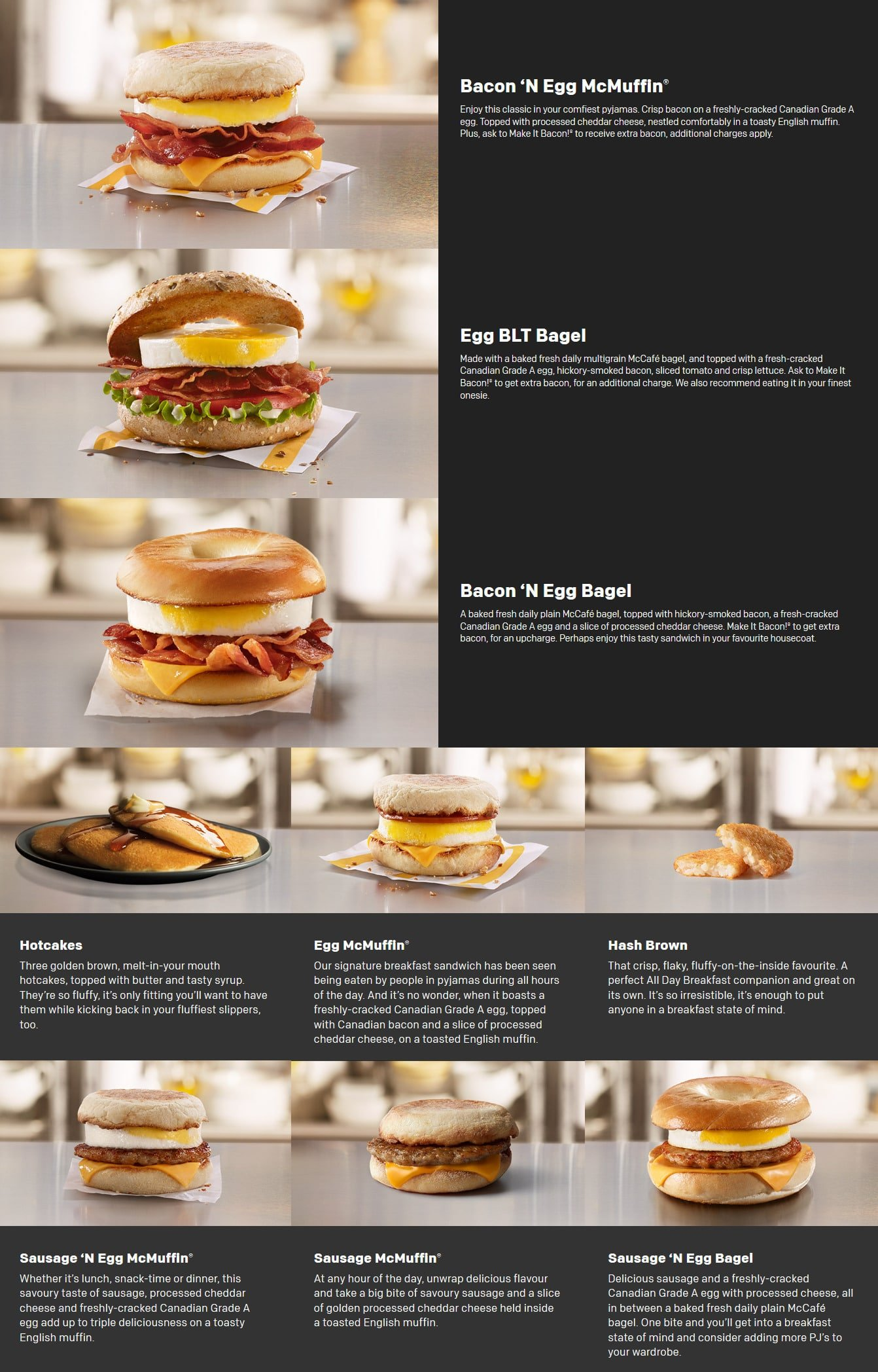 mcdonald u0026 39 s canada menu flyer and coupons