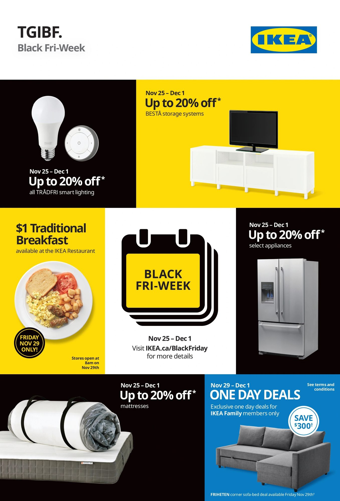 Ikea Black Friday Canada 2020 Sale Flyer