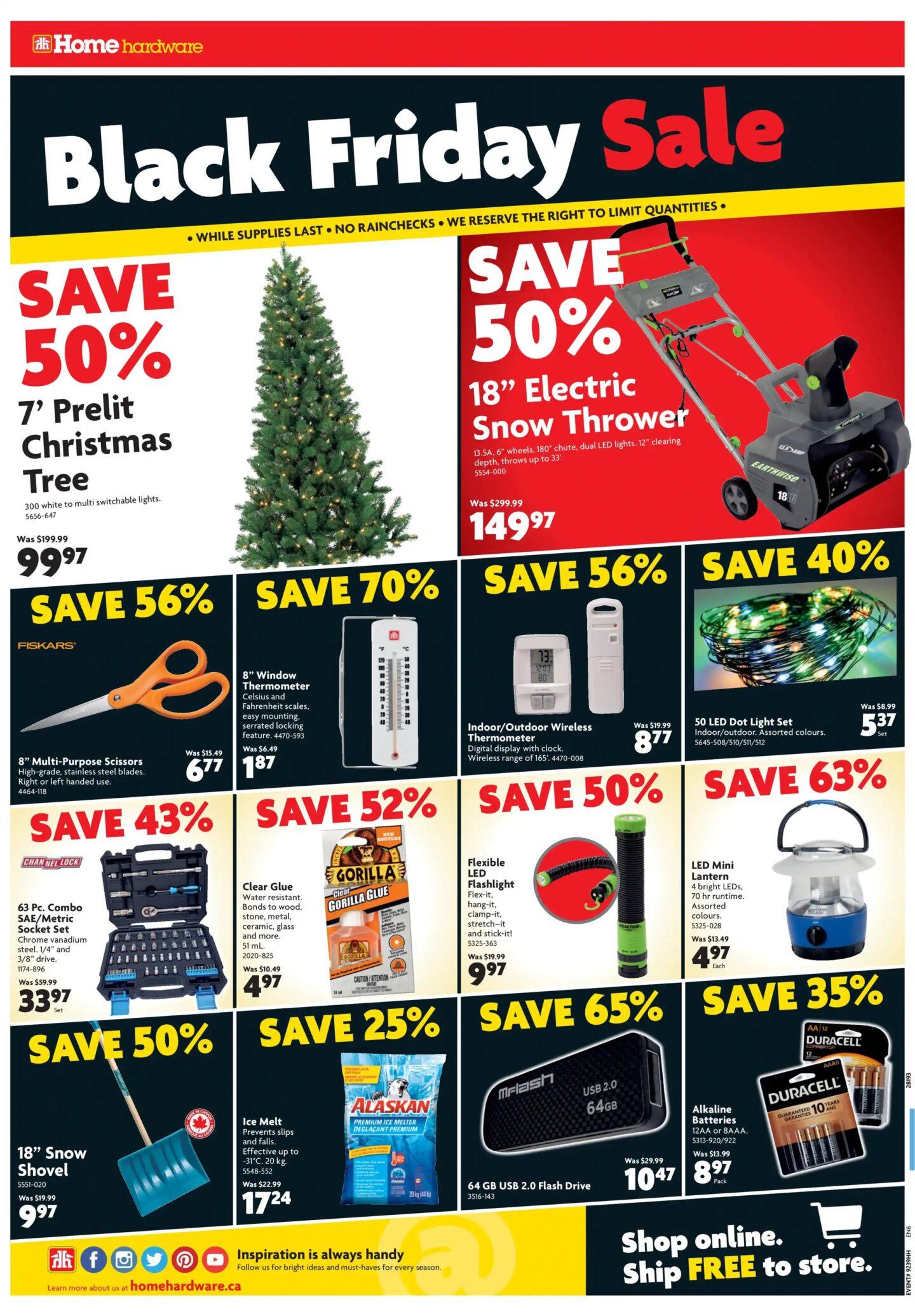 Home Hardware Black Friday Sale Flyer 2019