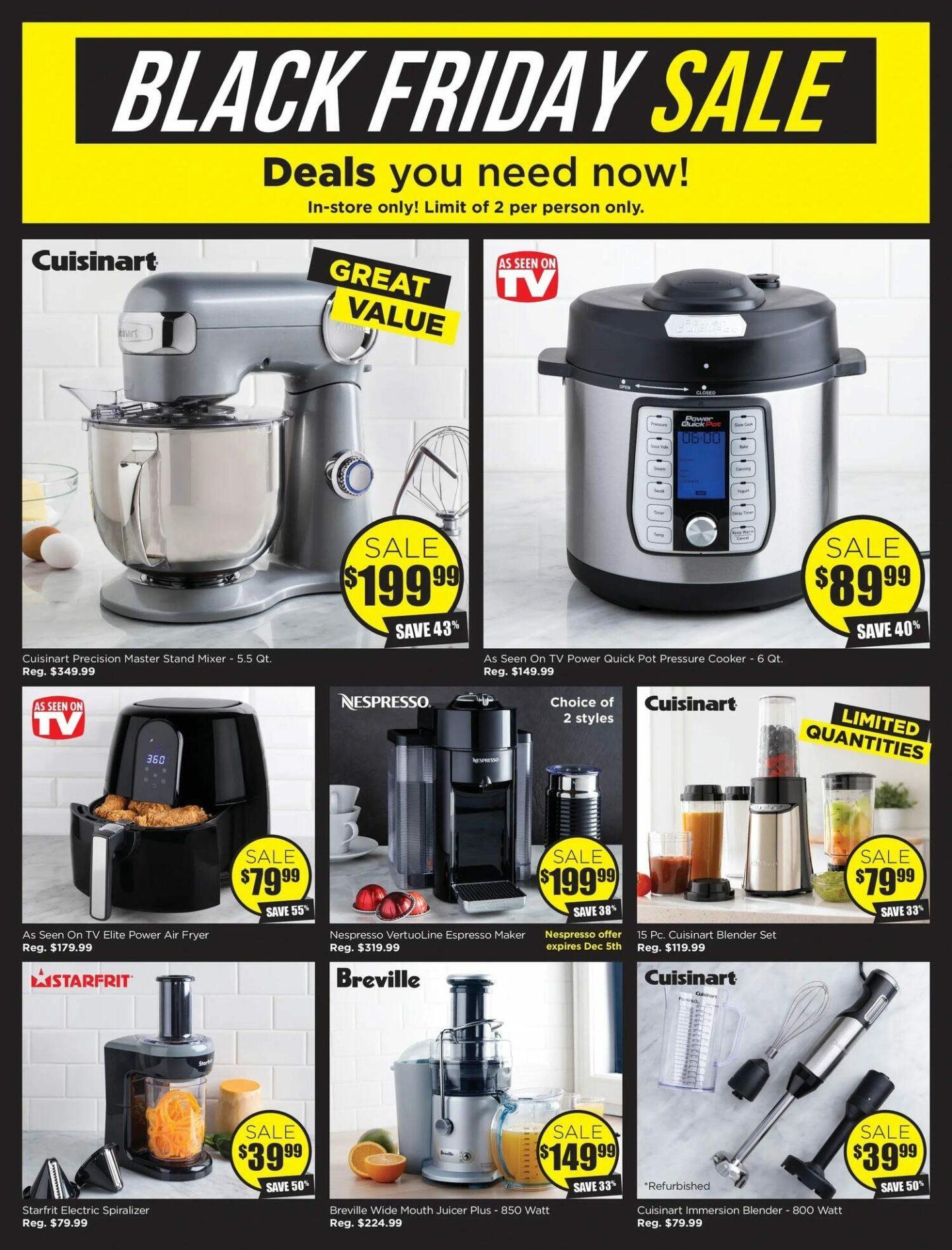 Kitchen Stuff Plus Black Friday 2019 Sale Flyer