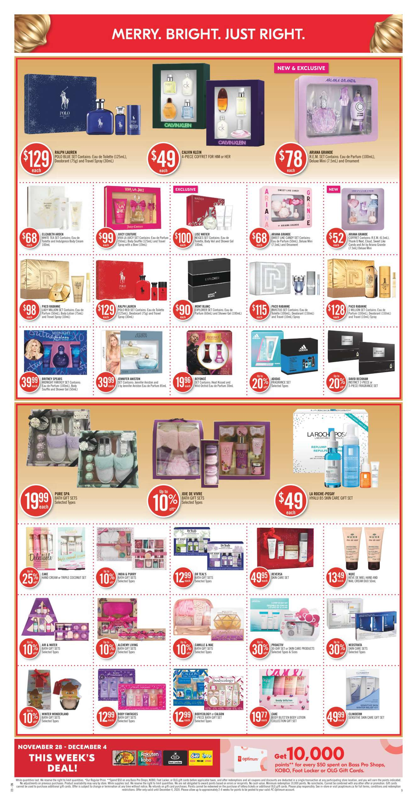 Shoppers Drug Mart Black Friday 2021 Sale Flyer